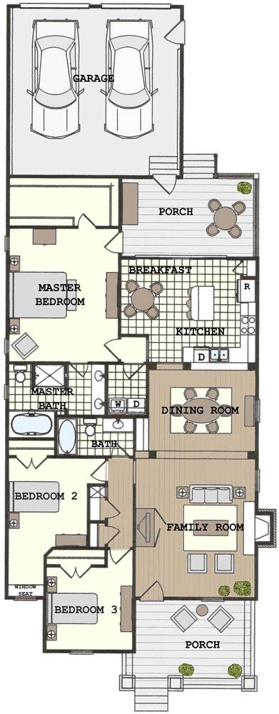 Bsa home plans benton bungalow ii historic for Historic bungalow house plans