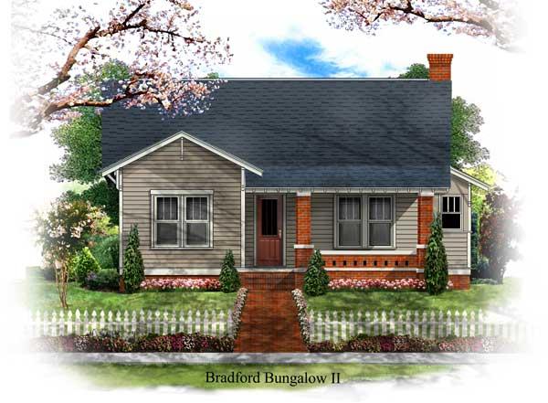 Bsa home plans bradford bungalow ii historic for Historic bungalow house plans