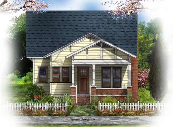 Bsa home plans bierne bungalow historic for Bungalow floor plans historic