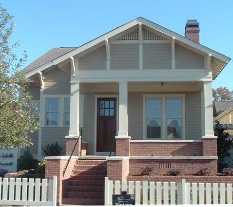 Bsa Home Plans Bierne Bungalow Historic