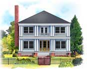 Charleston row house plans find house plans for Charleston row house plans