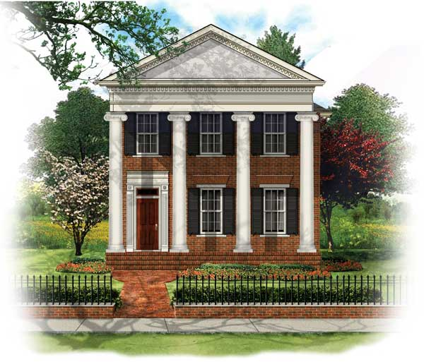 Bsa home plans wellington manor historic for Wellington house designs
