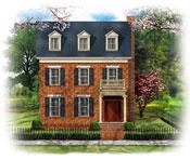 Home Plans Design Charleston Row House Plans