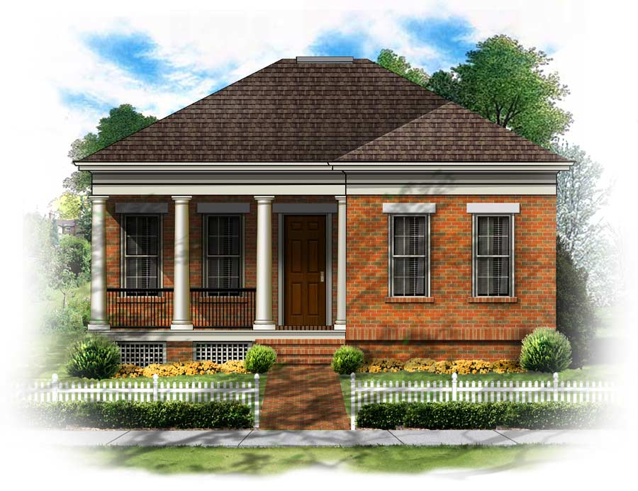 Bsa home plans chapman federal federal for Federal home plans