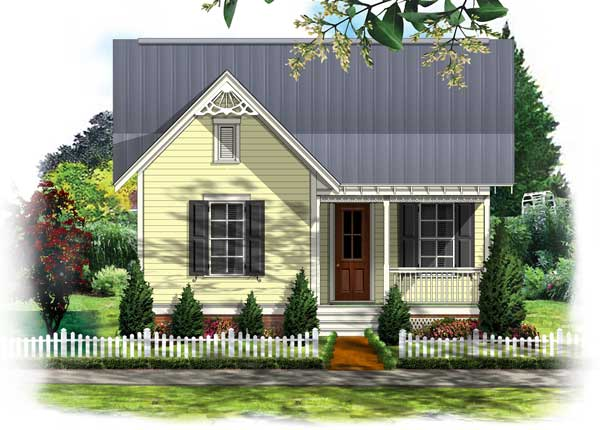 BSA Home Plans Clarkston Cottage Victorian Historic