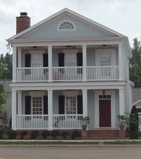 Custom home plans at building science associates for Best village house designs