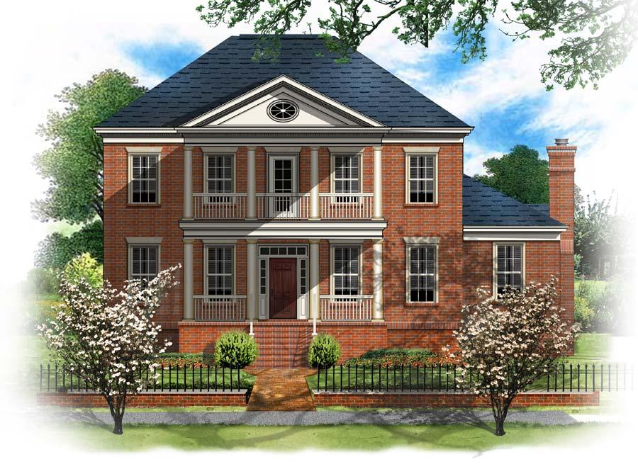 BSA Home Plans: Longfellow House II Greek Revival