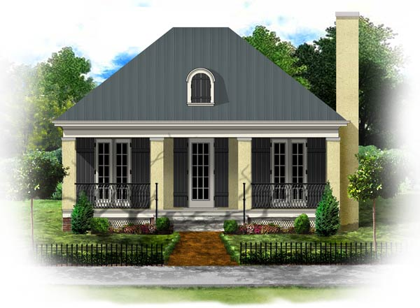 Colonial style home plans floor plans for French colonial house plans