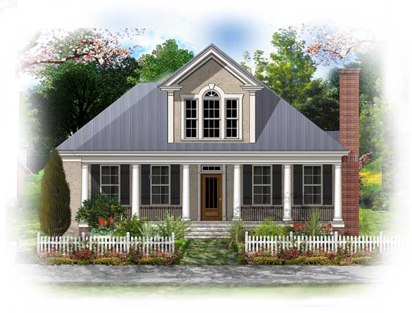 type of house french colonial On french colonial house plans