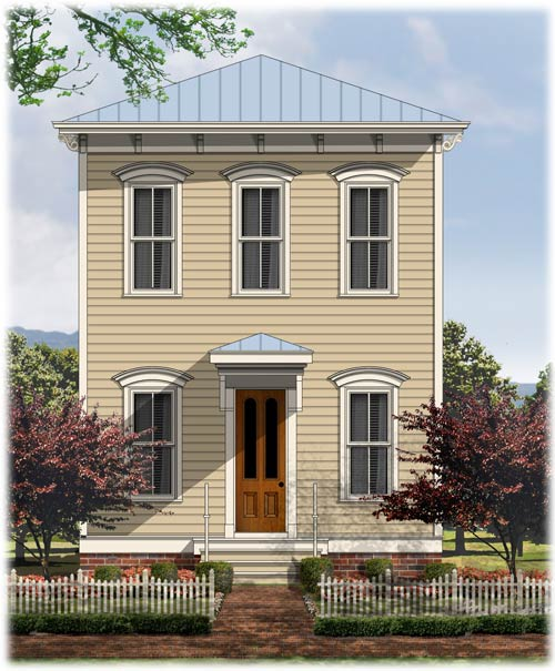 House plans and home designs free blog archive for Victorian italianate house plans