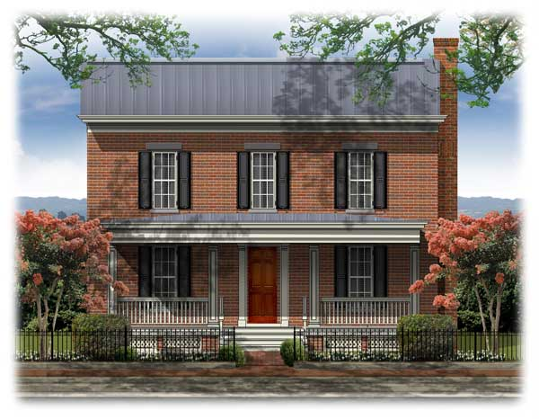 Federal house plans house plans home designs for Federal home plans
